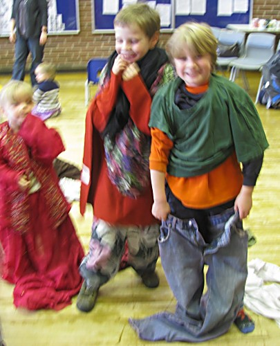 PHOTO: Children exploring making ethical choices